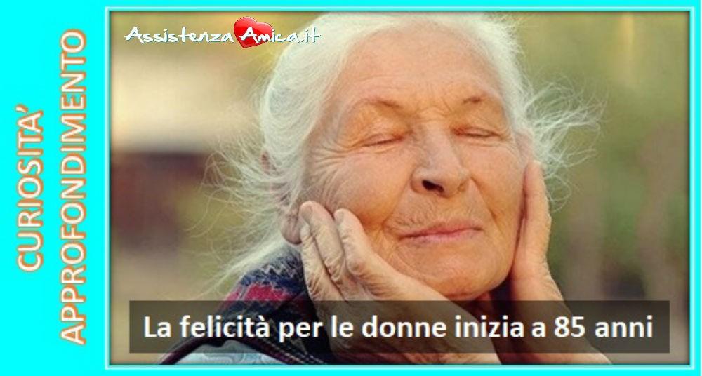 La felicità negli anziani!